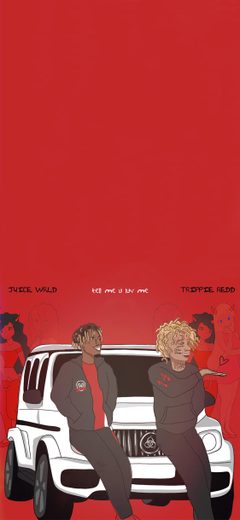 Tell me u luv me Wallpapers by Juice Wrld and Trippie Redd hiphopwallpapers