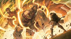 Attack On Titans Thunderbolt Anime Fire wallha