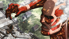Attack on Titan s second season s ending credits are being called out for spoilers