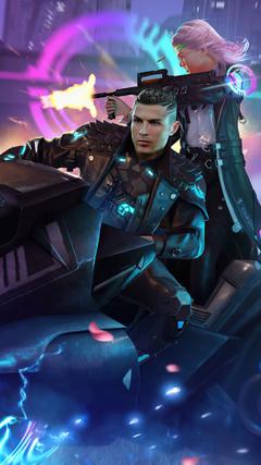 Cristiano Ronaldo Garena Fire Skin mordeo