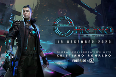 Garena Fire To Have Football Superstar Cristiano Ronaldo as Playable Character Named Chrono