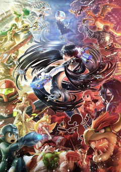 Super Smash Brothers Bayonetta Bayonetta 2 Wallpapers HD Desktop
