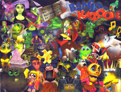 Banjo Kazooie Tooie Wallpapers HD Nuts And Bolts Nintendo 64