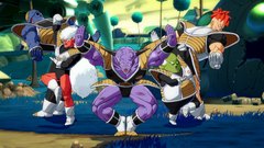 The Ginyu Force posing