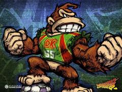 Super Mario Strikers DK
