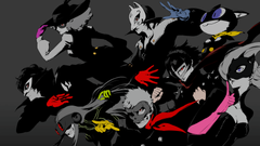 Selective Coloring Persona 5 Wallpapers