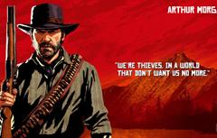 Wallpapers art bandit Rockstar Red Dead Redemption 2 Arthur