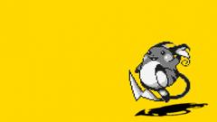 Pokemon yellow Raichu simple backgrounds wallpapers