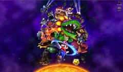 Cropped an epic Super Mario Galaxy wallpaper