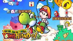 Gameplay do jogo Mario Yoshi Island veja no que deu
