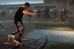 Tony Hawk shares a cheeky video of a Pro Skater character in real