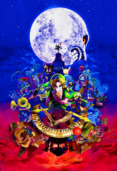 A cool Zelda Majora s Mask Wallpapers I edited I was wondering if it