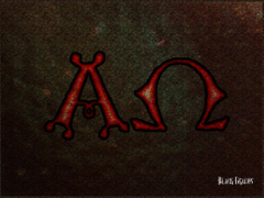 Image of Alpha Omega Cross Wallpapers