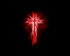 Unholy Crucifix by LordOfTheInferno