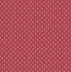 Petite Fleur de lis Wallpapers in Burgundy from the Spring Garden