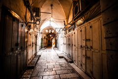 ancient alley in jewish quarter israel jerusalem 4k wallpapers and
