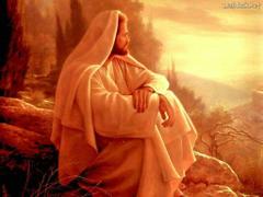 jesus watching over
