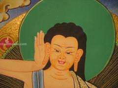 Guru Milarepa Ritual Thanka
