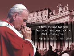 Reflection On Blessed Pope John Paul II