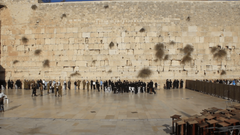 The Wailing Place of the Jews Wailing Wall Western Wall The