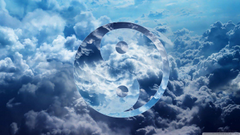 Ying Yang Clouds HD desktop wallpapers High Definition