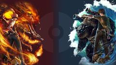 Pokemon Charizard vs Blastoise HD Wallpapers