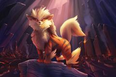 Arcanine Pokemon HD Artist 4k Wallpapers Image Backgrounds