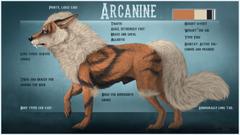 Growlithe And Arcanine Wallpaper PC Growlithe And Arcanine