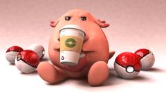 Grumpy Chansey pokemon