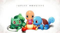 Pokemon Squirtle Bulbasaur Charmander HD Wallpapers Desktop