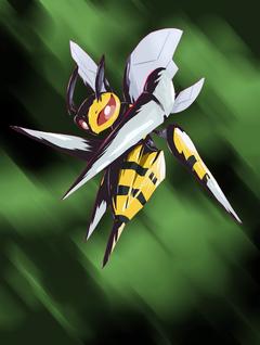 Mega Beedrill by nintendo