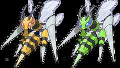 Mega Beedrill by KrocF4