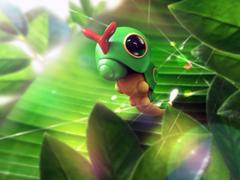 pokemon plants Caterpie Wallpapers