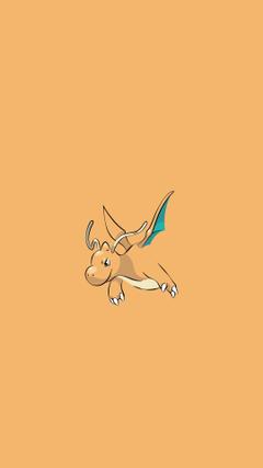 Dragonite Pokemon Character iPhone 6 HD Wallpapers