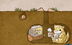 pokemon video games Diglett Sandshrew Wallpapers