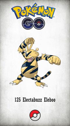 Character Electabuzz Eleboo