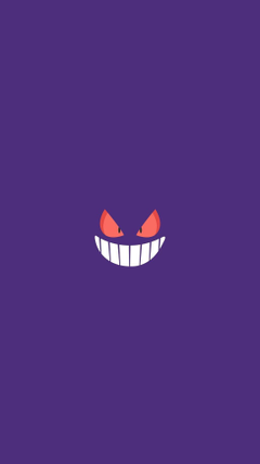Gengar Pokemon Character iPhone 6 HD Wallpapers HD