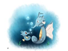 Kingdra on Dragons