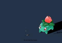 Pokemon bulbasaur ivysaur simple backgrounds wallpapers