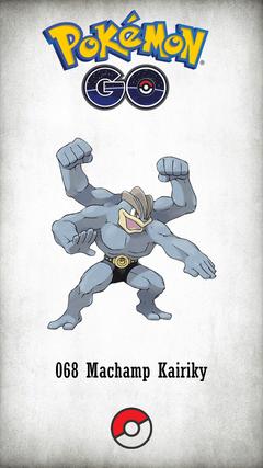 Character Machamp Kairiky