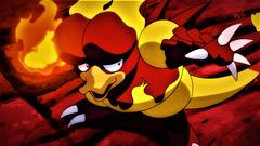Alola Region Magmar using Fire Punch by Pokemonsketchartist on