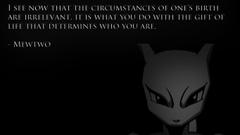 Anime Mewtwo Pkemon Quotes