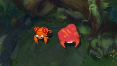 Paras Parasect as the Krugs Map Skins