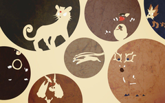Pokemon Persian Kangaskhan wallpapers