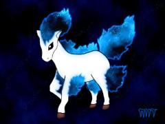 Shiny Ponyta by mitsuoika