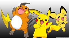 Pokemon Raichu 4K HD Desktop Wallpapers for 4K Ultra HD TV