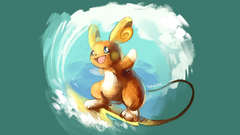 Raichu Alola Pokemon