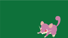 Rattata and Slowbro Wallpapers