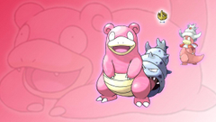 Slowpoke Slowbro and Slowking Wallpapers by Glench