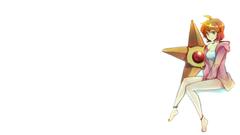 pokemon misty pokemon simple backgrounds white backgrounds staryu